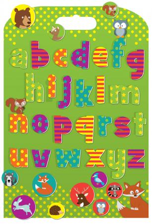Stickere cu animale / Woodland Animals Alphabet [0]