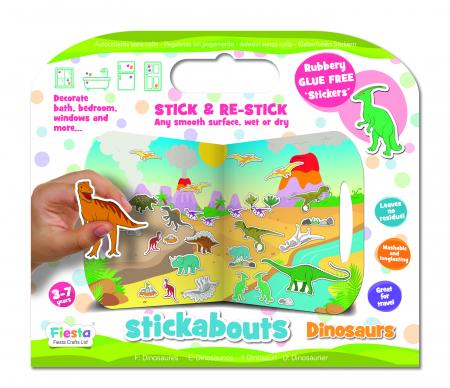 Stickere Dinozauri / Dinosaurs - Fiesta Crafts [4]