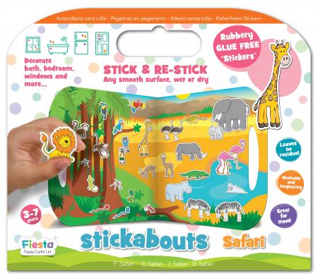 Stickere Zoo - Fiesta Crafts [0]