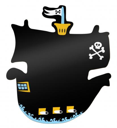 Tabla corabia piratilor / Pirate Ship Chalkboard - Fiesta Crafts [0]