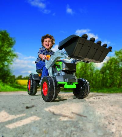 Tractor Jim turbo cu pedale cupa si volan interactiv [6]