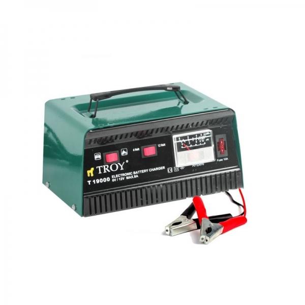Incarcator de baterie 6V 12V CC Troy T19000