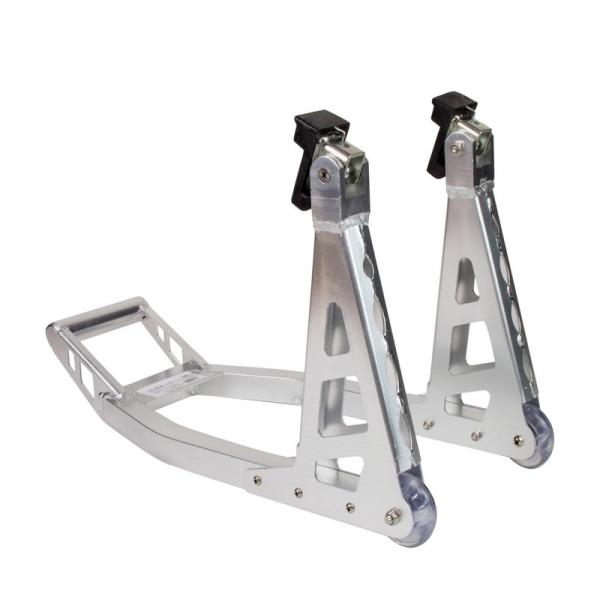 Stand motocicleta din aluminiu pentru roata din fata Dema DEMA24195, 225 Kg DEMA
