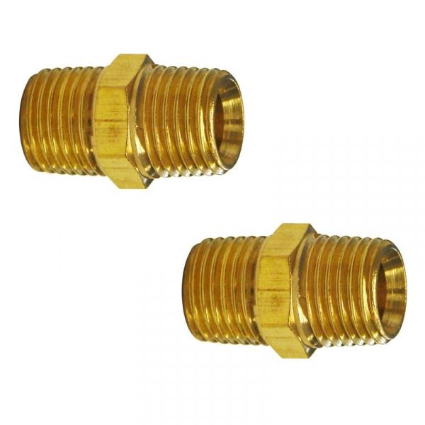 Set conectori aer comprimat cu filet exterior AG Guede GUDE41030, 1 4 , O9 mm, 2 bucati casaidea.ro