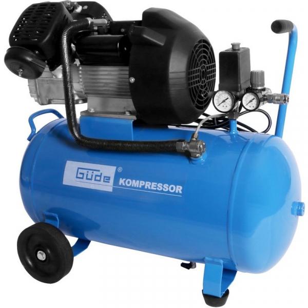 Compresor cu ulei cu doi cilindri 401 10 50 Guede GUDE50108, 2200 W, 50 L, 10 bari casaidea.ro