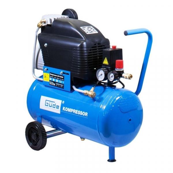 Compresor cu ulei cu un cilindru 231 10 24 Guede GUDE50113, 1500 W, 24 L, 10 bari poza casaidea 2021