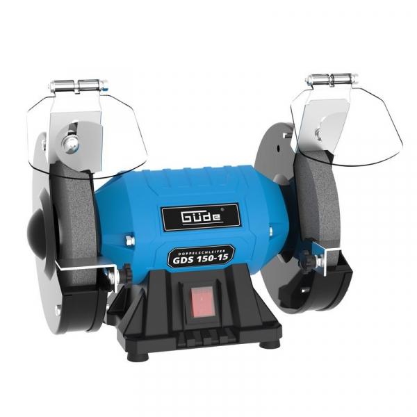 Polizor de banc GDS 150-15 Guede GUDE55235, 250 W, O150 mm poza casaidea 2021