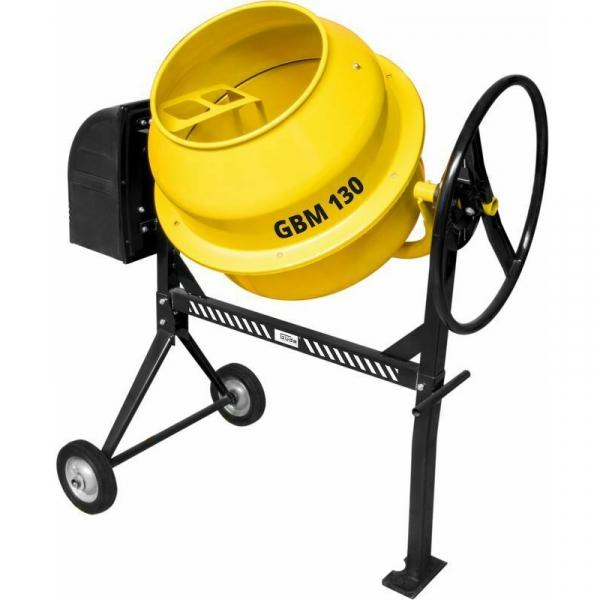 Betoniera GBM 130 Guede GUDE55451, 130 L, 550 W