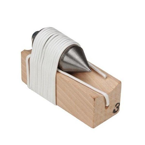 Fir cu plumb cilindric Toolland TLNHE952300, 300 gr casaidea.ro