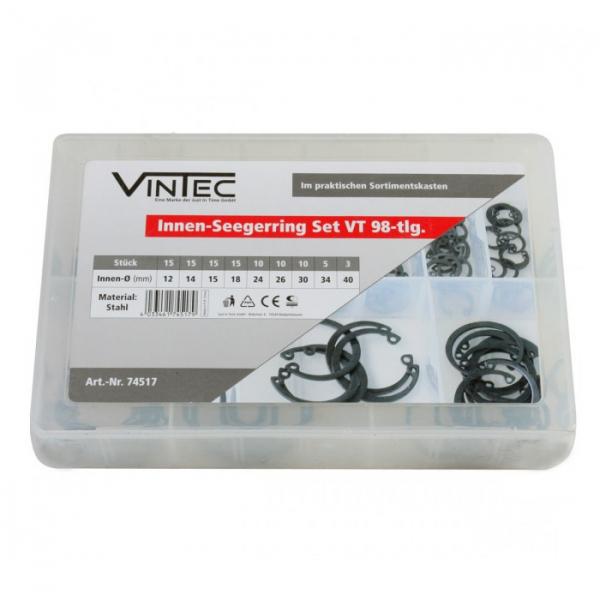 Set inele de siguranta Vintec VNTC74517, O12-40, 98 de piese VINTEC