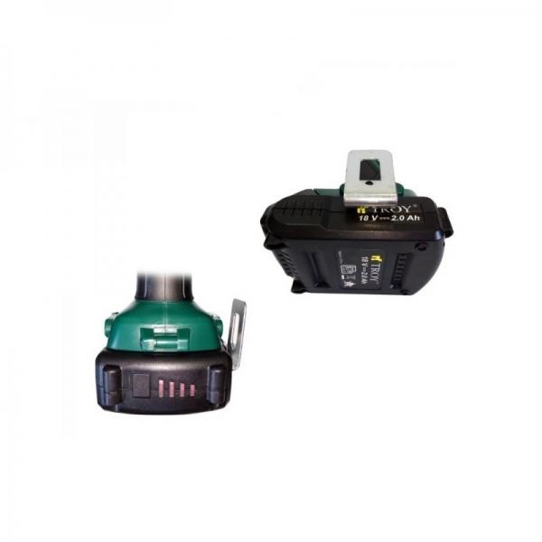 Acumulator Li-Ion Troy T13018, 18 V, 2.0 Ah poza casaidea 2021