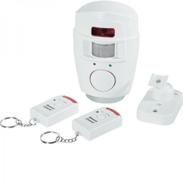 Alarma cu senzor infrarosu si 2 telecomenzi