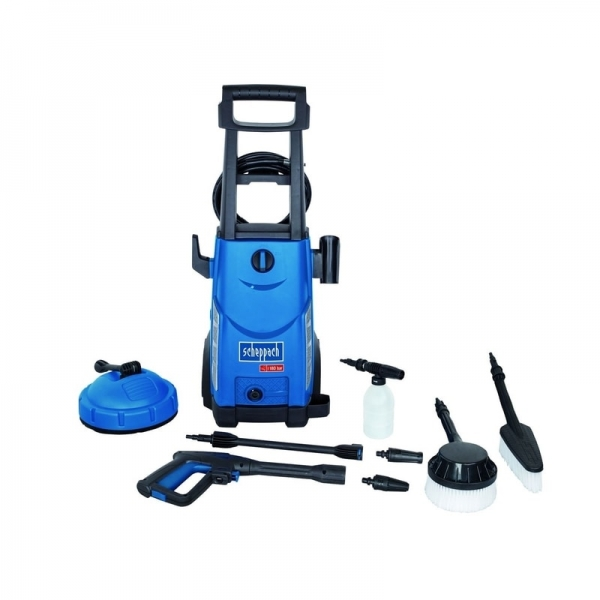 Aparat de spalat cu presiune + 8 accesorii HCE2400 Scheppach SCH5907705901, 2400 W, 180 bari casaidea.ro