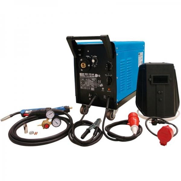 Aparat de sudura cu gaz protector MIG192 6K Guede GUDE20076, 25-160 A, 40 V casaidea.ro