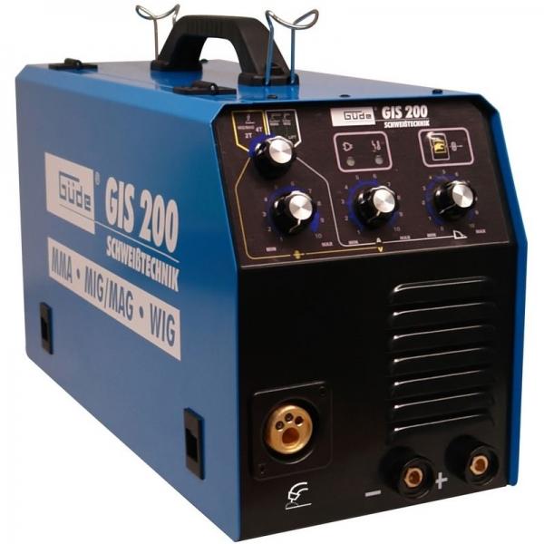Aparat de sudura tip invertor GIS200 Guede GUDE20037, 10 - 200 A, 5 kVA casaidea.ro