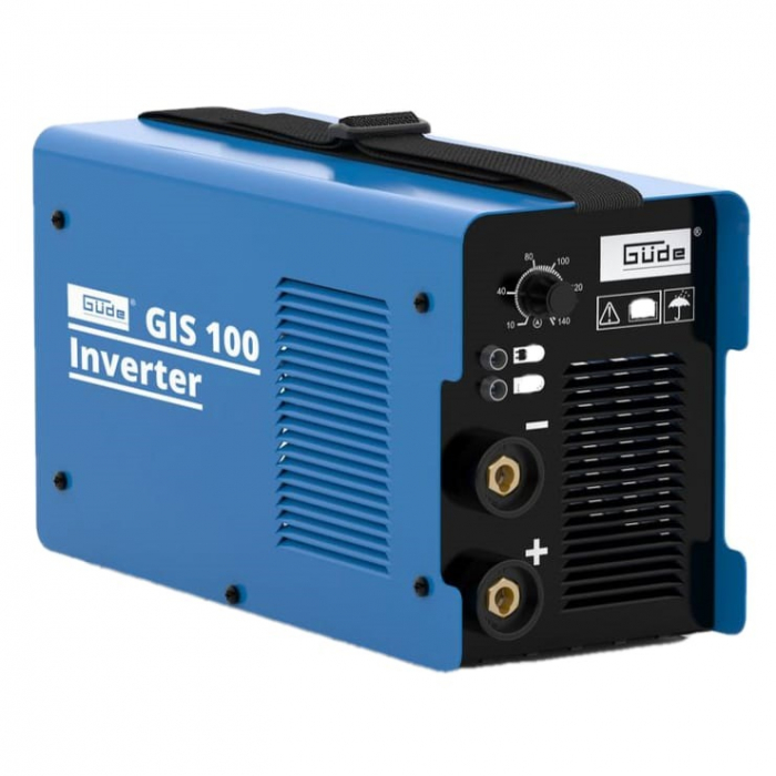 Aparat de sudura tip invertor GIS100 Guede GUDE20023, 10 - 100 A, 4.37 kVA 1