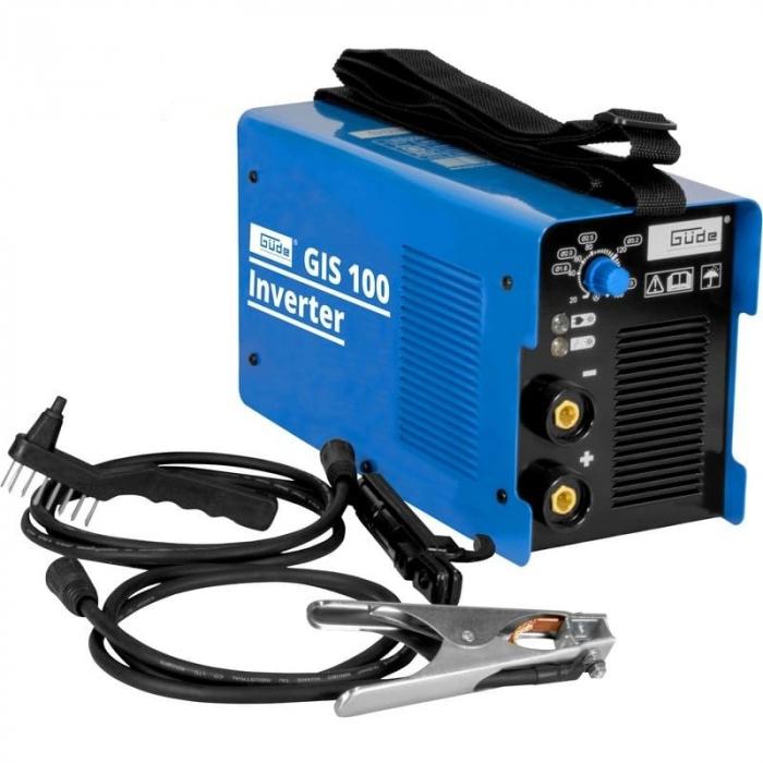 Aparat de sudura tip invertor GIS100 Guede GUDE20023, 10 - 100 A, 4.37 kVA poza casaidea 2021