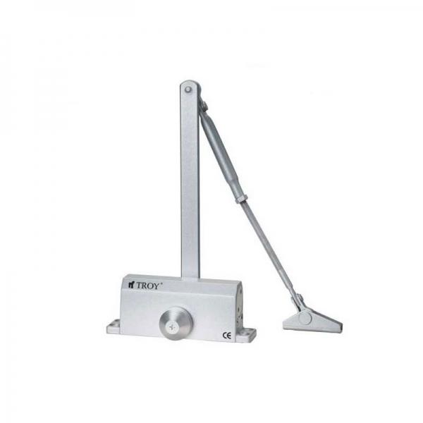 Amortizor hidraulic pentru usa Troy T27302, 60-85 kg, 206 mm casaidea.ro
