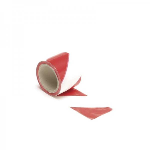 Banda pentru semnalizare cu rosu si alb Perel PRL1187-100 100m x 80mm imagine 2021 casaidea.ro