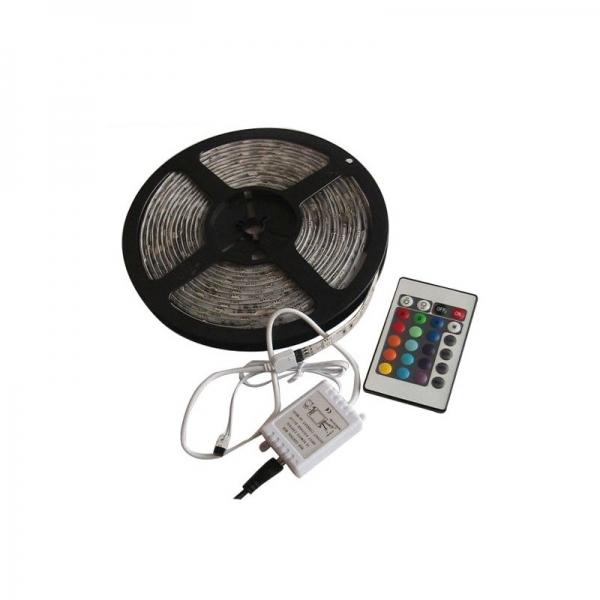 Banda flexibila luminoasa cu LED-uri Grundic G8711252222363, 5 m, 12V, 1A imagine 2021