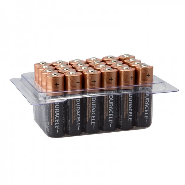 Set baterii AA Duracell DCEL5036446808202, 24 bucati imagine 2021 casaidea.ro