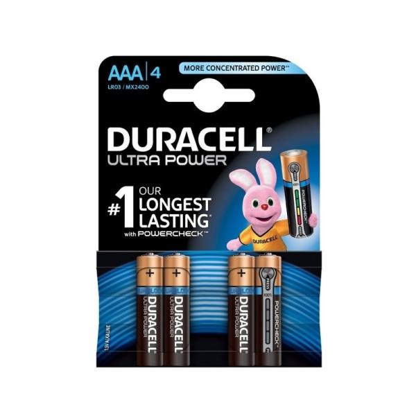 Baterie DURACELL AAA X 4 bucati DURALOCK Ultra power( 469073)