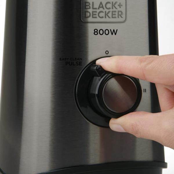 Blender BXJB800E Black & Decker B+DES9120020B, 800 W, 1.5 l 8
