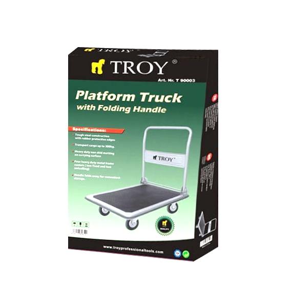 Carucior platforma Troy T90003, 300 Kg, 900×600 mm 3