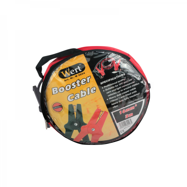 Cabluri curent auto Wert W2604, 3 m, 16 mm² [1]