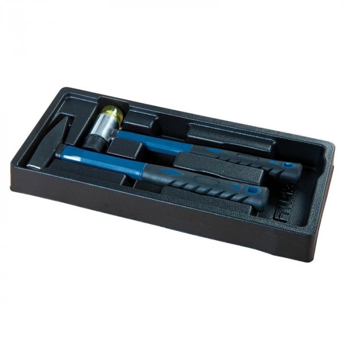 Carucior portabil cu scule TW1000 Scheppach SCH5909304900, 7 sertare, 263 piese 17