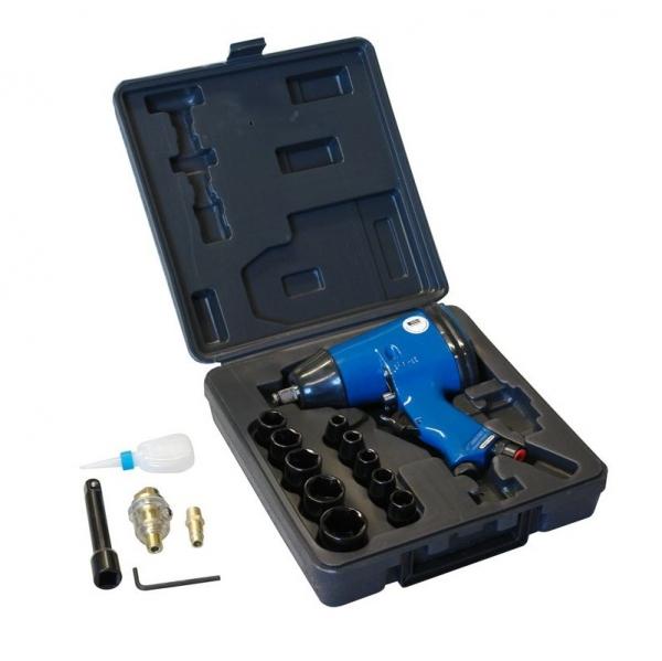 Pistol pneumatic impact Guede GUDE40039, chei tubulare si accesorii 16 piese poza casaidea 2021