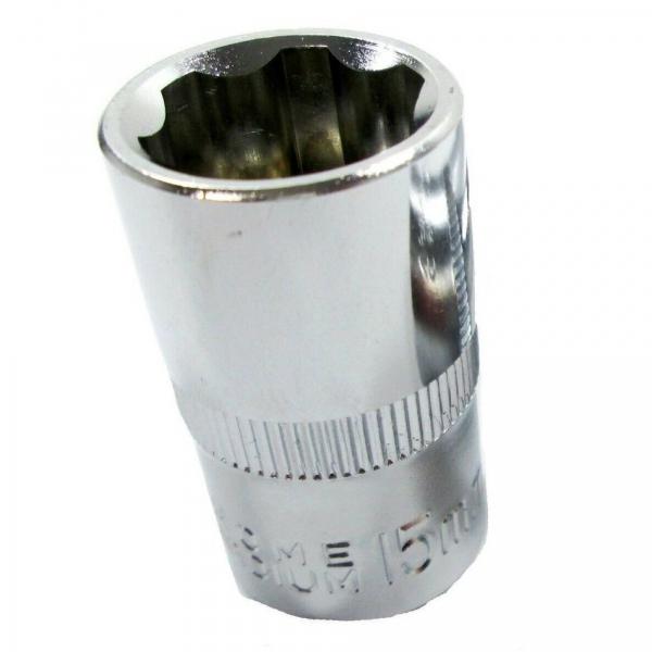 """Cheie tubulara T26187, 1/2"""", Ø 15 mm, L 38 mm [0]"""