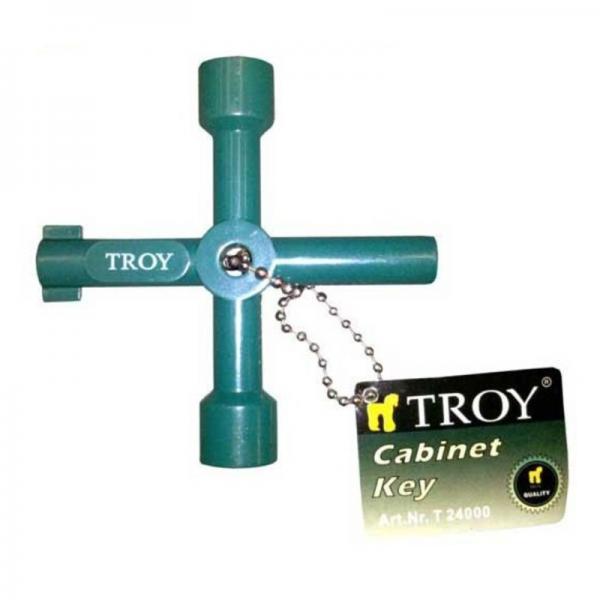 Cheie universala pentru tablouri Troy T24000, 3 in 1 0