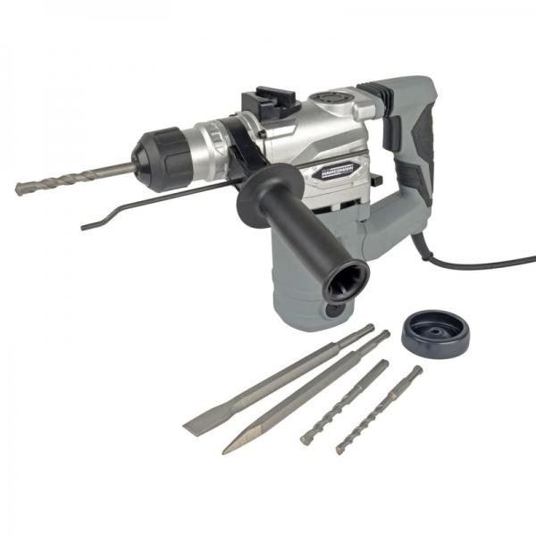 Ciocan rotopercutor SDS Plus Mannesmann M12597, 1500 W, 800 rpm casaidea.ro