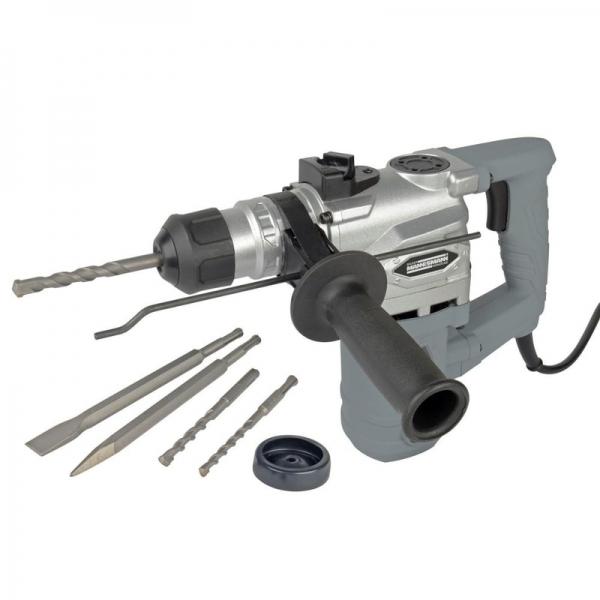 Ciocan rotopercutor SDS Plus Mannesmann M12591, 900 W, 800 rpm casaidea.ro
