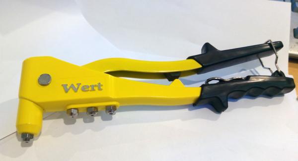 Cleste popnituri Wert W2170, 2.4-4.8 mm 1