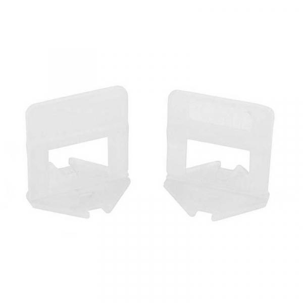 Set cleme pentru nivelare gresie si faianta Wert W2749-100, 1 mm, 200 buc casaidea.ro