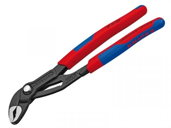 Cleste profesional pentru instalator Cobra Knipex KNI8702250T, 250 mm casaidea.ro
