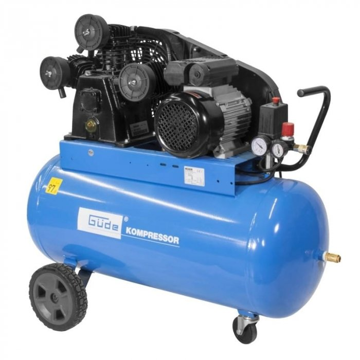 Compresor 550/10/100 Guede GUDE50130, 2200 W, 100 l, 10 bari [0]