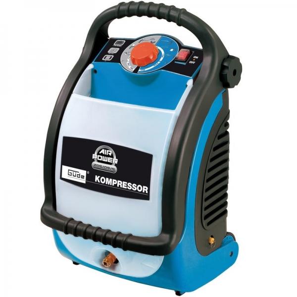 Compresor AIRPOWER 205 09 5 Guede GUDE50093, 1100 W, 5 L, 9 bari casaidea.ro