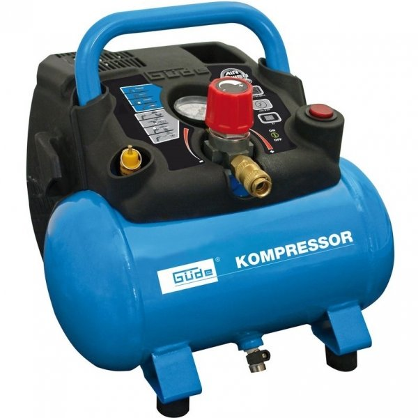 Compresor AIRPOWER 190 08 6 Guede GUDE50089, 1100 W, 6 L, 8 bari poza casaidea 2021