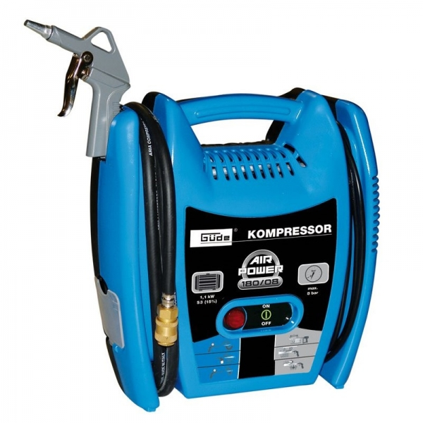 Compresor AIRPOWER 180 08 Guede GUDE50077 1100 W 8 bar title=Compresor AIRPOWER 180 08 Guede GUDE50077 1100 W 8 bar