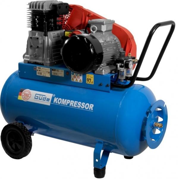 Compresor cu ulei cu doi cilindrii PRO Guede GUDE75520, 3000 W, 100 L, 10 bari poza casaidea 2021