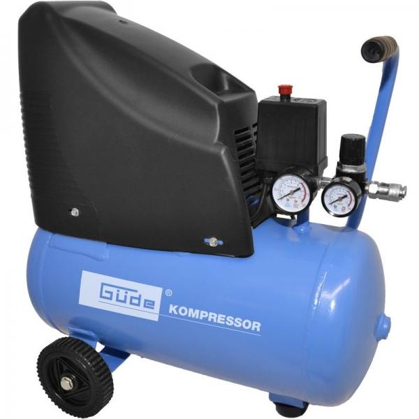 Compresor fara ulei Guede GUDE50111, 1100 W, 24 L, 8 bari poza casaidea 2021