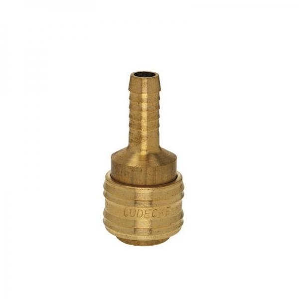Conector aer comprimat pentru cuplare furtun Ludecke LUDES13T, 13 mm 0