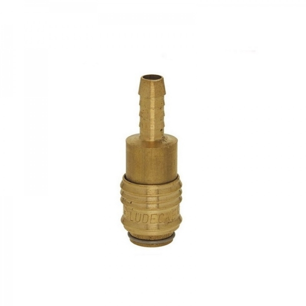 Conector aer comprimat pentru cuplare furtun Ludecke LUDESM6T, 6 mm 0
