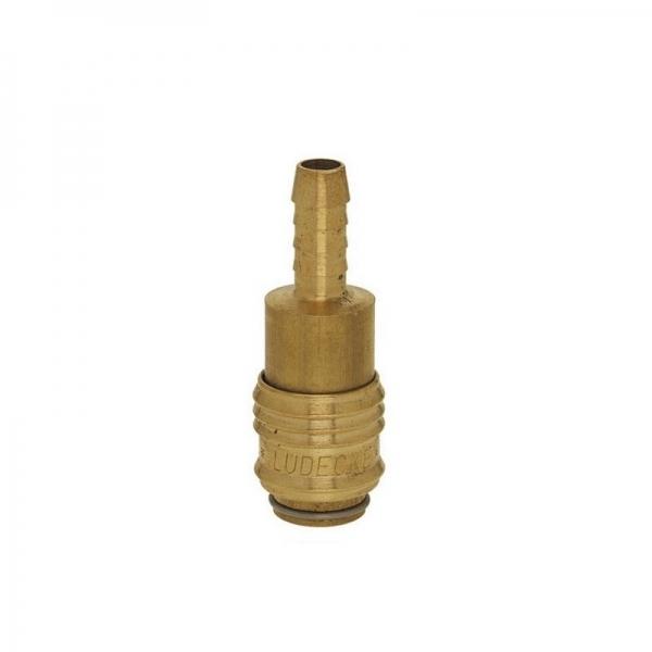 Conector furtun aer comprimat Ludecke LUDESM8T, 8 mm casaidea.ro