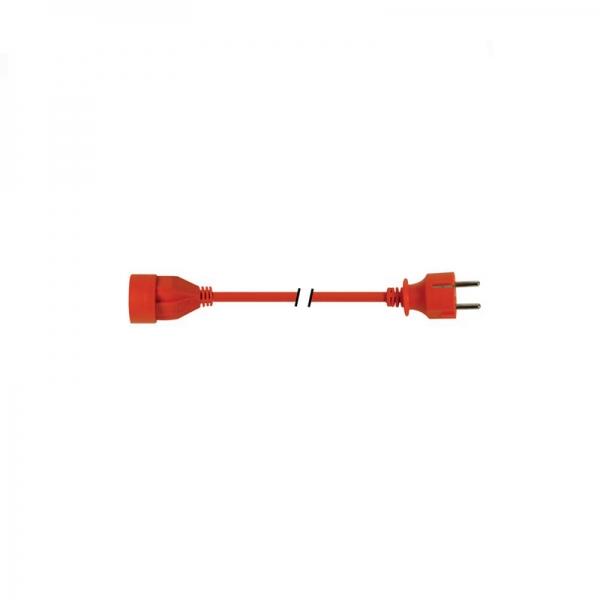 Cablu prelungitor cu potectie pentru copii Velleman VELEC20-G, 20 m casaidea.ro