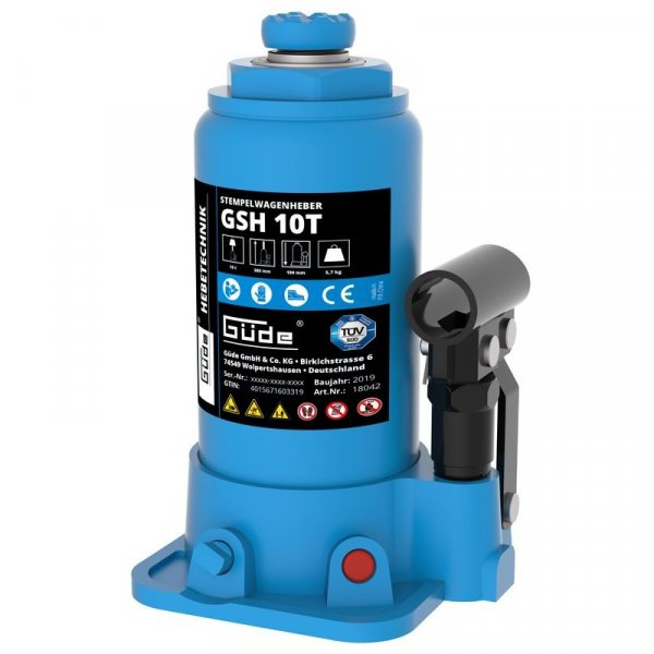 Cric hidraulic GSH 10T Guede GUDE18042, 10 Tone GÜDE