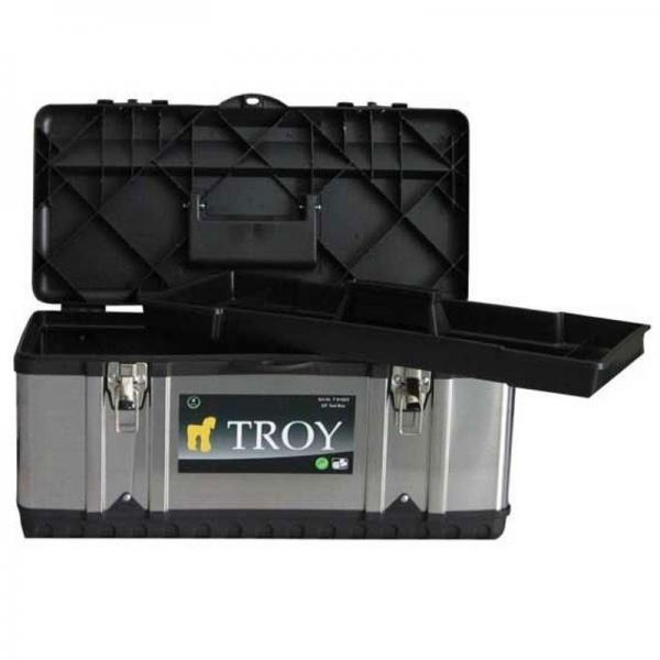 Cutie de scule metalica Troy T91016, 39x17x17 cm 0